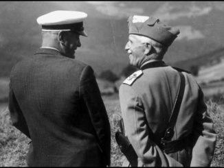 Mussolini e Vittorio Emanuele III