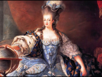 Maria Antonietta mappamondo