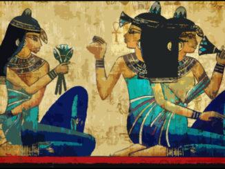 Donna egiziana