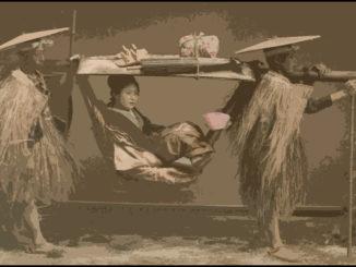 Donna nel Giappone dell'Ottocento