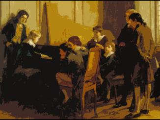 Fryderyk Chopin da bambino